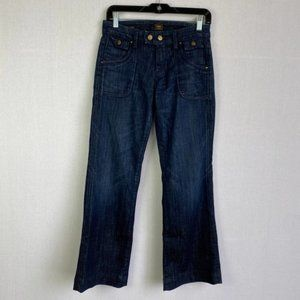 CITIZENS OF HUMANITY Low Waist Wide Leg Jeans